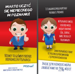 Miasto Poznań prowadzi akcję promującą naukę języka niemieckiego!
