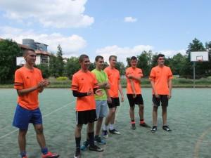 Klasa 2i1/R1 mistrzem ZSE w piłkę nożną!