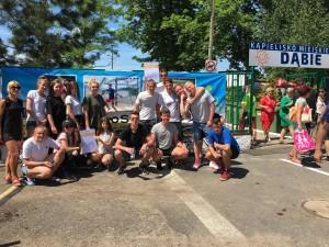 Młodzieżowe Mistrzostwa Polski w Plażowej Piłce Ręcznej.
