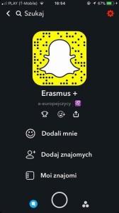 E-Europejczycy na Snapchacie!