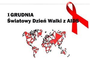 1 grudnia - Światowy Dzień Walki z AIDS