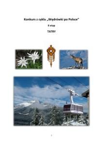 Konkurs wiedzy o Tatrach