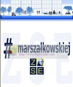 Kolejny numer gazetki #namarszalkowskiej.