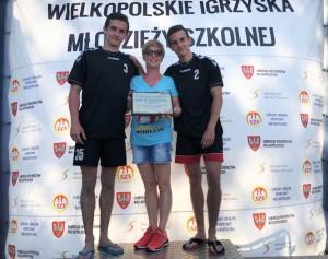 IV miejsce w Mistrzostwach Wielkopolski w Siatkówce Plażowej!