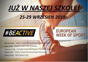Europejski Tydzień Sportu w ZSE
