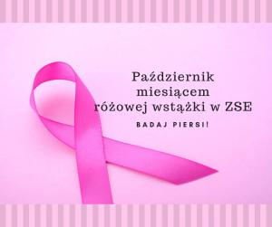 Październik miesiącem różowej wstążki