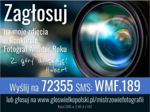 Głosujcie na Huberta Jeżewskiego z 3R1!