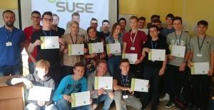 Oto Oni - dumni posiadacze swojego pierwszego certyfikatu z programu SUSE!