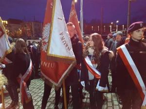 Uroczystości z okazji 101 rocznicy wybuchu Powstania Wielkopolskiego.