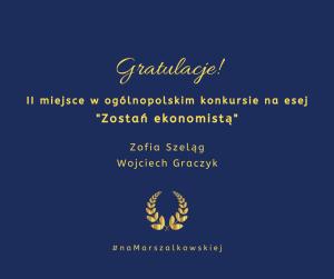 Gratulujemy sukcesu!
