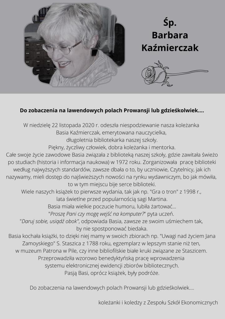 Basia Kaźmierczak