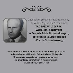 Pogrzeb Tadeusza Wilczyńskiego